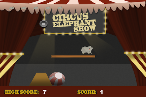 Screenshot Circus Elephant Show Lite