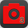 Selfie App Icon Automatic - Selfie Cam Shooter Auto launched via an app icon with timer & Photo Edit